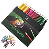 LoveStorY Colored Pencils 72 Count Premium Soft Core Professionals Assorted Colors Drawing Sketching