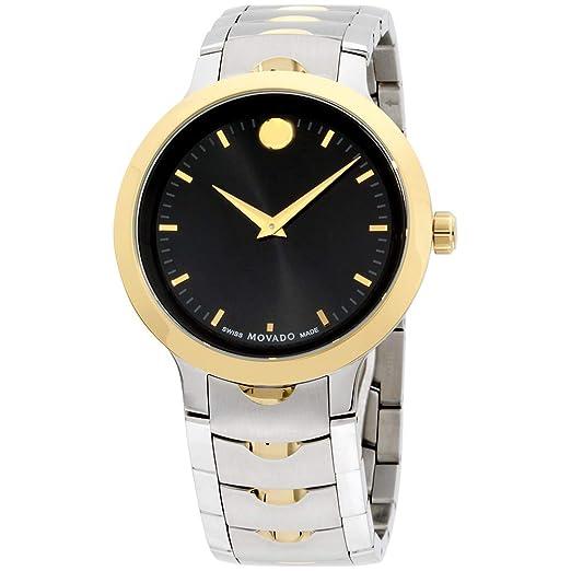 Amazon.com: Movado 0607043 - Reloj de cuarzo para hombre con ...