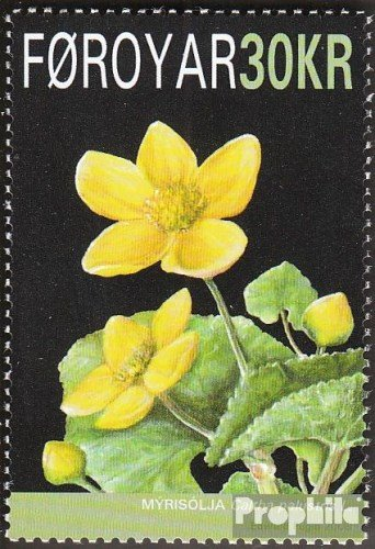 Denmark-Faroe Islands 646 (complete.issue.) 2008 Nationalblume the Faroe Islands (Stamps for collectors)