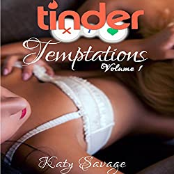 Tinder Temptations - Volume 1: A Steamy First Time Lesbian Bisexual Romance Menage FFM