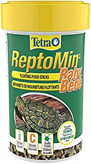 Tetra ReptoMin Floating Food Sticks, Baby Sized, for Small Aquatic Turtles, Newts and Frogs, 26g