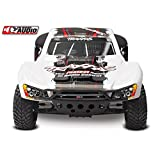 Traxxas Slash 1 10-Scale 2WD Short Course Racing Truck with TQ 2.4GHz Radio and OBA - White