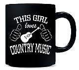 01 This Girl Loves Country Music Copy - Mug