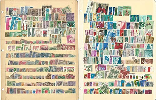 Worldwide Stamp Collection on 10 Stock Pages, Unsorted Loaded Lot (H)