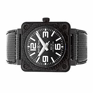 Bell & Ross BR 01 automatic-self-wind mens Watch BR01-92-C (Certified Pre-owned)