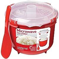 Sistema plastique de riz à vapeur/micro-ondes vaisselle/Repas Récipient, 940ml