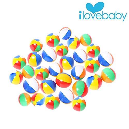 Artempo Rainbow Inflatable Balls Swimming