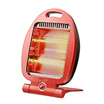 GUO@ Household Quartz Heating Mini Grill Stove Heater 2-speed Tilt-Protection Rapid Heat Saving Provincial Radio Heater for Small Offices 300W/600W Space Heaters