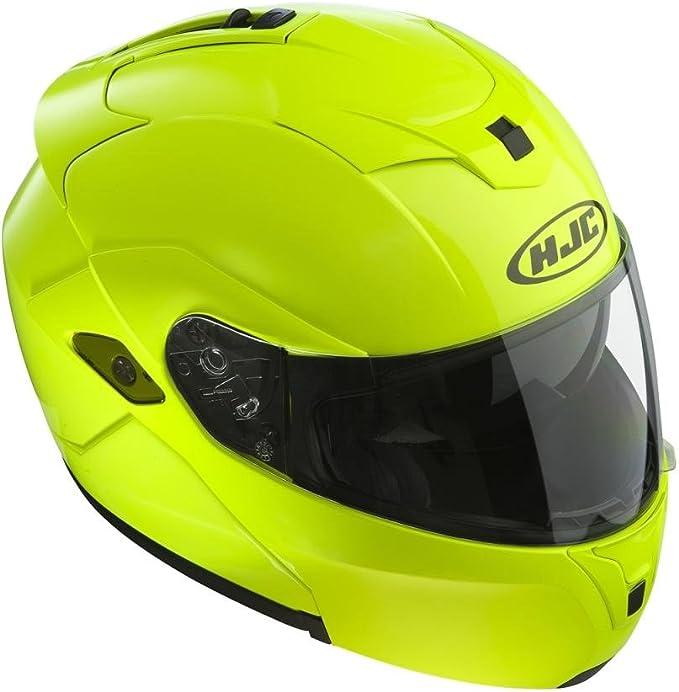 Hjc Sy Max Iii Motorrad Helm Klapphelm Fluoreszierend Xl Auto
