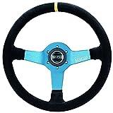 Sparco 015TMZS1 Monza Suede Steering Wheel