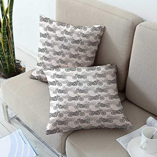 Buy ashley solid throw pillow cover in gray set of 4