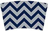 Mugzie brand Cocktail Shaker with Insulated Wetsuit Cover - Cowboys Football Colors Chevron