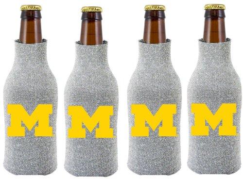 UPC 617258022700, NCAA Michigan Wolverines Glitter Bottle Suit Koosie (Pack of 4)