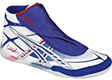 ASICS Men's Cael Wrestling Shoe, White/Blue/Red, 11 M US