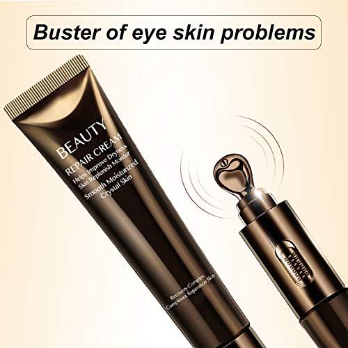 51tISeoZX3L - Anti-Aging Eye Cream, Eye Treatment Cream, Eye Firming Cream, for Moisturizing Firming Eye Skin, Reduces Eye Bags, Dark Circles, Puffiness, Crow's Feet, Fine Lines