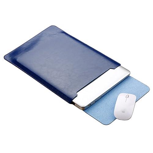 "MISSMAO Funda 11.6"" de Cuero Microfibra PU Resistente al Agua para Apple Ordenador Portátil Macbook"