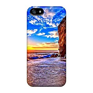 Awesome Phone Case Defender Tpu Hard Case Cover For Iphone 5/5s- Sea Horizon by mcsharks