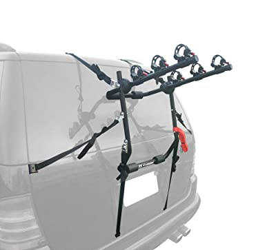 Tyger Auto TG-RK3B203S Deluxe 3-Bike Trunk Mount Bicycle Bike Rack
