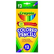 Crayola 68-4012 Colored Pencils, 12-Count, Pack of 1, Assorted Colors