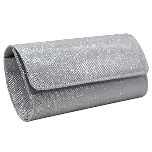 Envelope Party Body Bag Wedding Nodykka Evening Purse Clutch Bridal Silver Handbag Cross q0wfqXxE