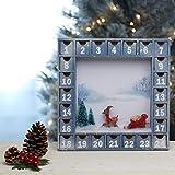 Woodpeckers Wooden Advent Calendar Empty DIY-Pre