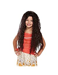 Disguise Costumes Moana Deluxe Child Wig, One Size
