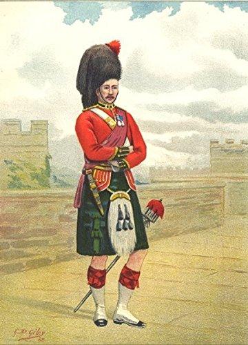 Army Black Watch British - BRITISH ARMY UNIFORMS: 42nd – Black Watch (Royal Highlanders) Regiment;1890