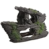 SODIAL(R) Aquarium Decoration Rock Grotto Cave Fish Tank Terrarium Decoration Shape 88x150mm