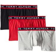 Tommy Hilfiger Men's Underwear 3 Pack Cotton Stretch Trunks