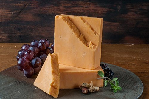 Cheshire Cheese Cheddar Cheese style- Golden Age Cheeses Wisconsin from Harmony Dairy