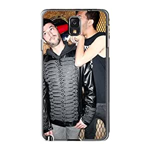 Samsung Galaxy Note3 WkJ4074OpUB Special Colorful Design Orphaned Land Band Series Scratch Resistant Hard Phone Cover -JasonPelletier