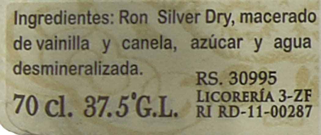 Punta Cana Club Plata Ron Blanco Seco - 700 ml: Amazon.es ...