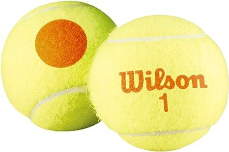 Wilson Starter Orange Pelotas de tenis, pack de 3, para niños ...