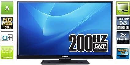 Telefunken d40 F125 N3 C 102 cm (televisor, 200 Hz): Amazon.es: Electrónica
