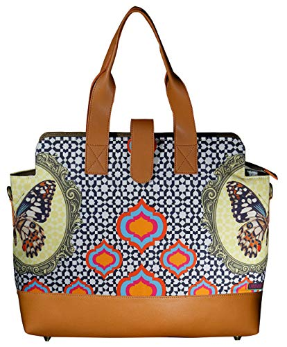 Women stylish Spacious Laptop Briefcase Tote Designer Bag Fits upto 17