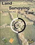 Land Surveying Law, Keen, John E., 156569001X
