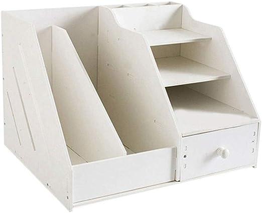 Caja De Almacenamiento De Carpetas, Cajón Multifunción Estantería ...