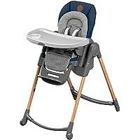 Maxi-Cosi Minla trona Evolutiva, reclinable y plegable, 6 en 1 trona convertible, silla para niños, trona portátil de…