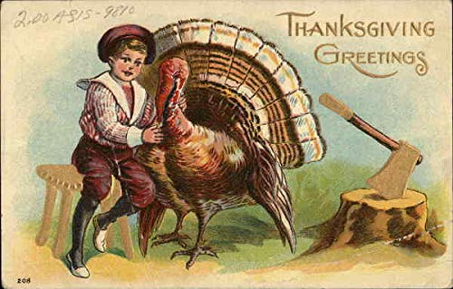 Vintage Advertising Postcard: Thanksgiving Greetings From Rinkenbach's Eyesight Specialists