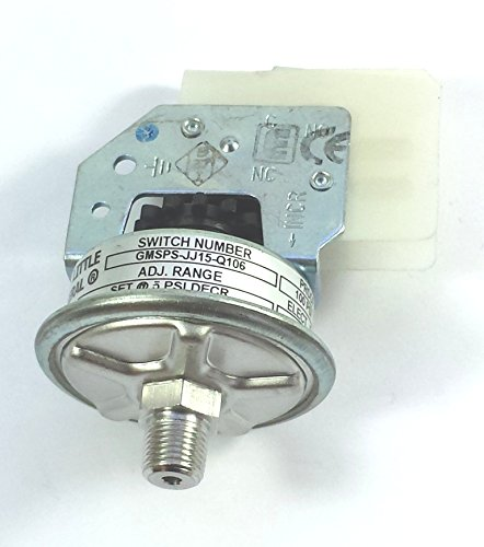 Barksdale GMSPS-JJ15-Q106 1/8MPT Steel 28VDCNO/NC Adj. 0-100PSI pressure switch