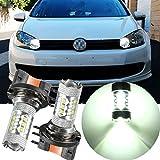 H15-White-CREE-LED-Car-Halogen-Bulb-12V-80W-DRL-Light