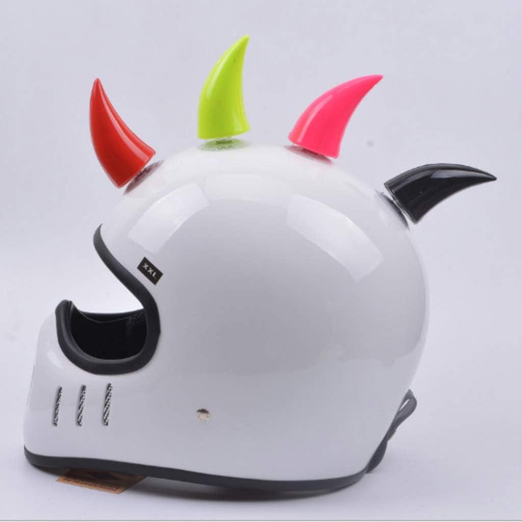 kesoto 2X Helmet Horns Devil Angel Horns Suction Cup Stick On Horns for Harely