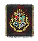 FengHuiSport [46'X59'] Tapestry Throw Blanket, Harry Potter Banner Emblem United College |Ravenclaw | Slytherin | Gryffindor | Hufflepuff