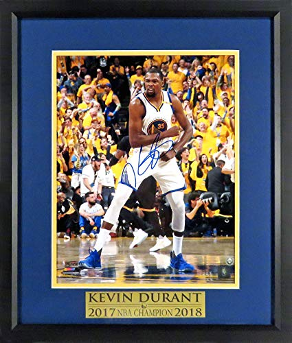 GS Warriors Kevin Durant Autographed