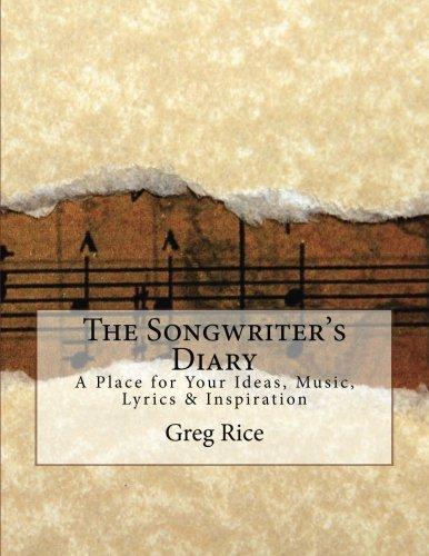 Songwriters Diary Place Lyrics Inspiration product image