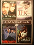 Movie 4 Pack: Too Young to Die / JFK Reckless Youth / Cracker / Final Shot: The Hank Gathers Story