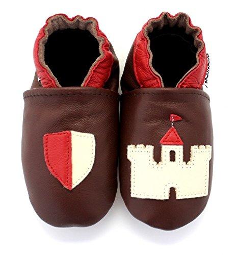 Melimelo–Pantofole Pelle Morbida Cavaliere