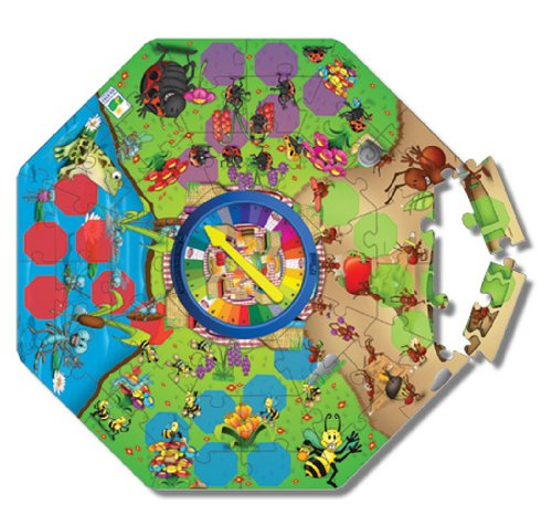 (The Learning Journey Explore & Learn Spelling Bugs Floor Puzzle )