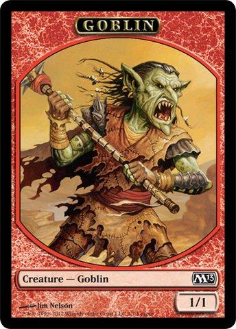 Promo Token - Magic: the Gathering - Goblin Token (1) - Token Promos