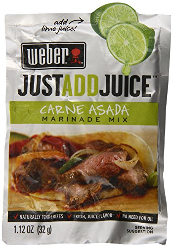Weber Carne Asada Marinade Mix, 1.12 Ounce (Pack of 12)